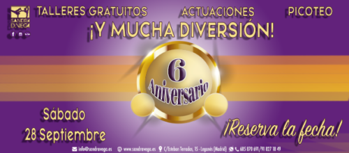 VI Aniversario Academia Sandra D. Vega