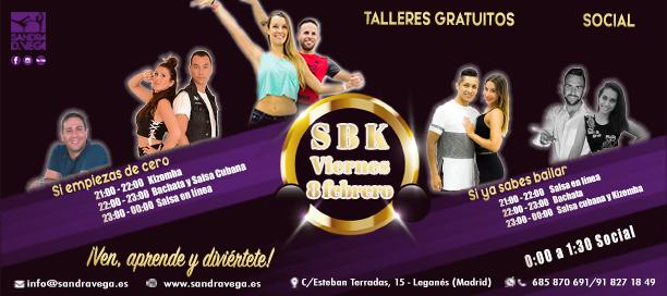 SBK viernes 8 febrero - Academia Sandra D. Vega