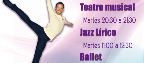 Teatro musical, jazz lírico y ballet