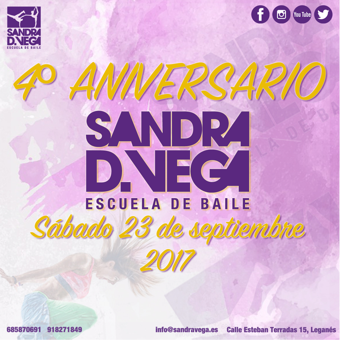 Academia de baile Sandra D. Vega: pole dance, contemporáneo, latinos, español, danza del vientre, zumba, ...