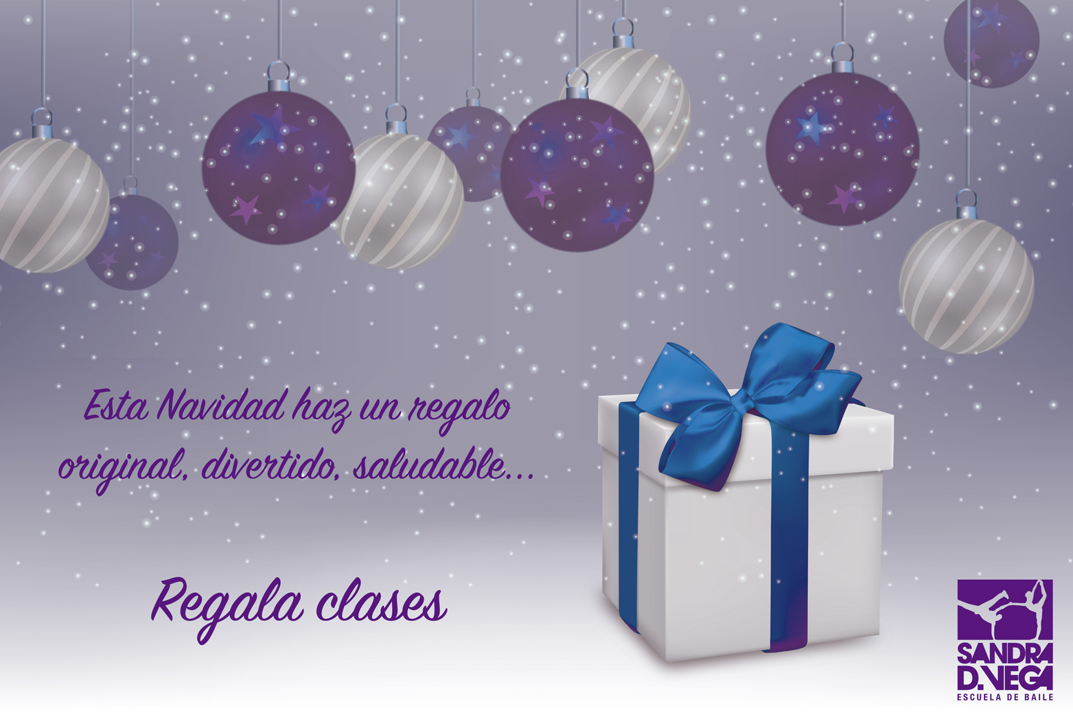 Academia Sandra D. Vega - tarjetas regalo navidad