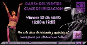 Clase Iniciación Danza del Vientre - Academia Sandra D. Vega