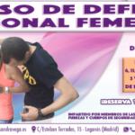 Curso Defensa Personal Mayo y Junio 2019 - Academia Sandra D. Vega