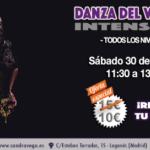 Taller de Danza del vientre 30 marzo - Academia Sandra D. Vega