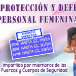 Curso defensa personal femenina