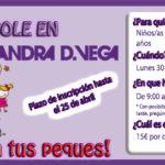 Días sin cole - Conciliacion - campamento niños - Sandra D. Vega