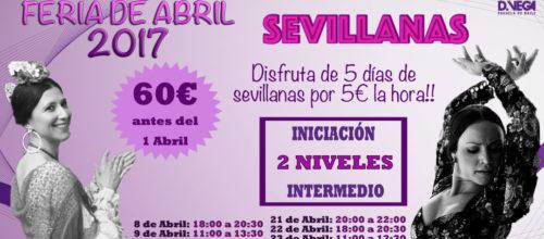 Intensivos de Sevillanas!! Feria de Abril