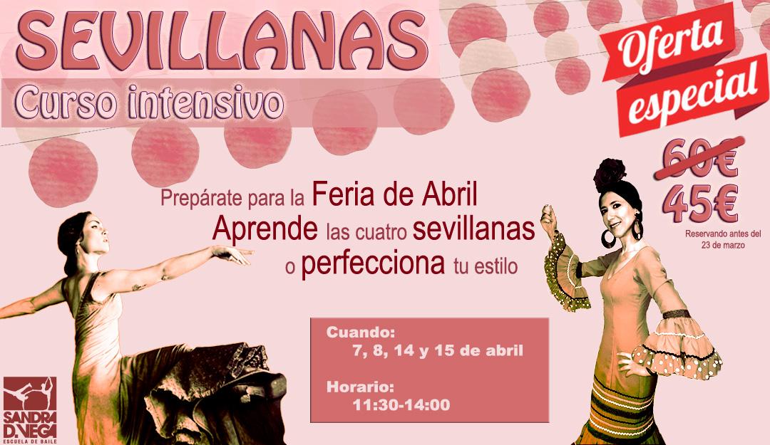 Curso de sevillanas en Madrid - Academia Sandra D. Vega