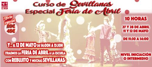 Curso Intensivo de Sevillanas – Especial Feria de Abril 2019