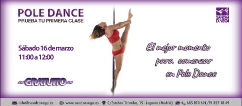 TALLER GRATUITO DE POLE DANCE