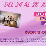 Puertas abiertas 24 al 28 junio - Academia Sandra D. Vega