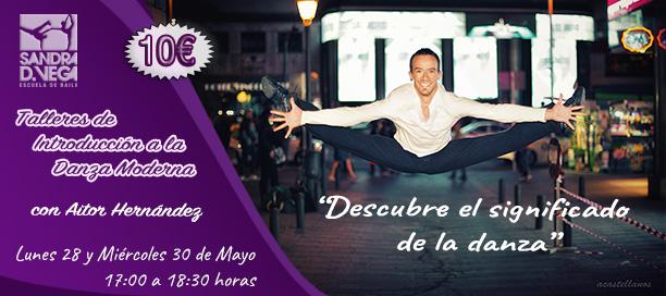 Taller de Danza Moderna en Leganés - Academia Sandra D. Vega - Aitor Hernández