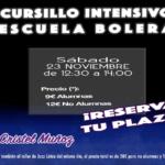Cursillo intensivo Escuela Bolera 23N - Academia Sandra D. Vega