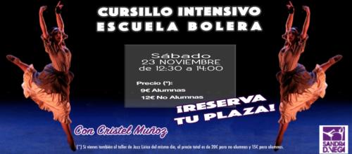 Cursillo intensivo de Escuela Bolera 23 noviembre