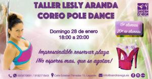 Taller Coreo Pole Dance - Academia Sandra D. Vega