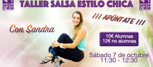 TALLER DE ESTILO CHICA SALSA CON SANDRA
