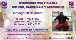 Workshops Willy Dianza - Academia Sandra D. Vega