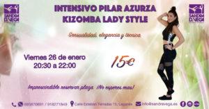 Taller LadyStyle Kizomba - Academia Sandra D. Vega