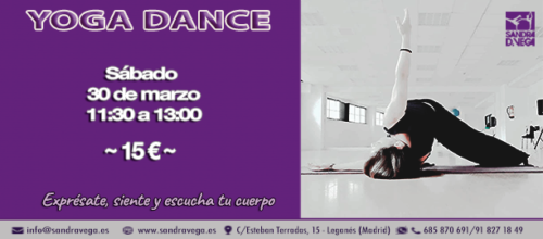 Taller de Yoga Dance
