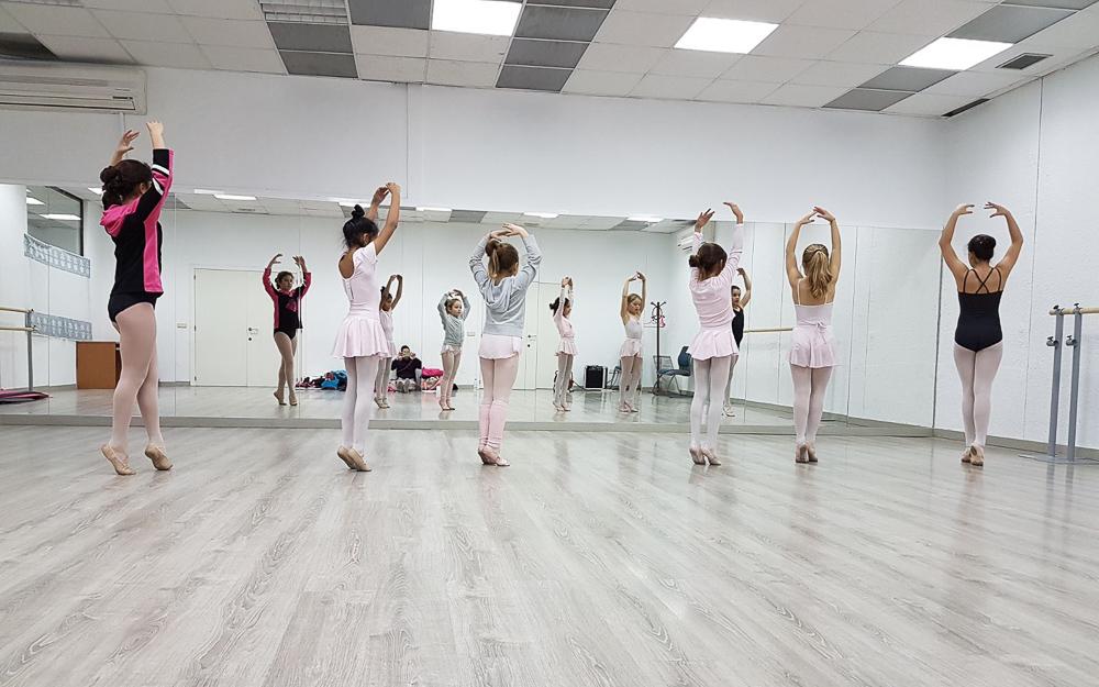 Clases de Baile Infantil - Academia Sandra D. Vega - Ballet Infantil
