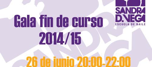 SEGUNDA GALA DE FIN DE CURSO 2014/15