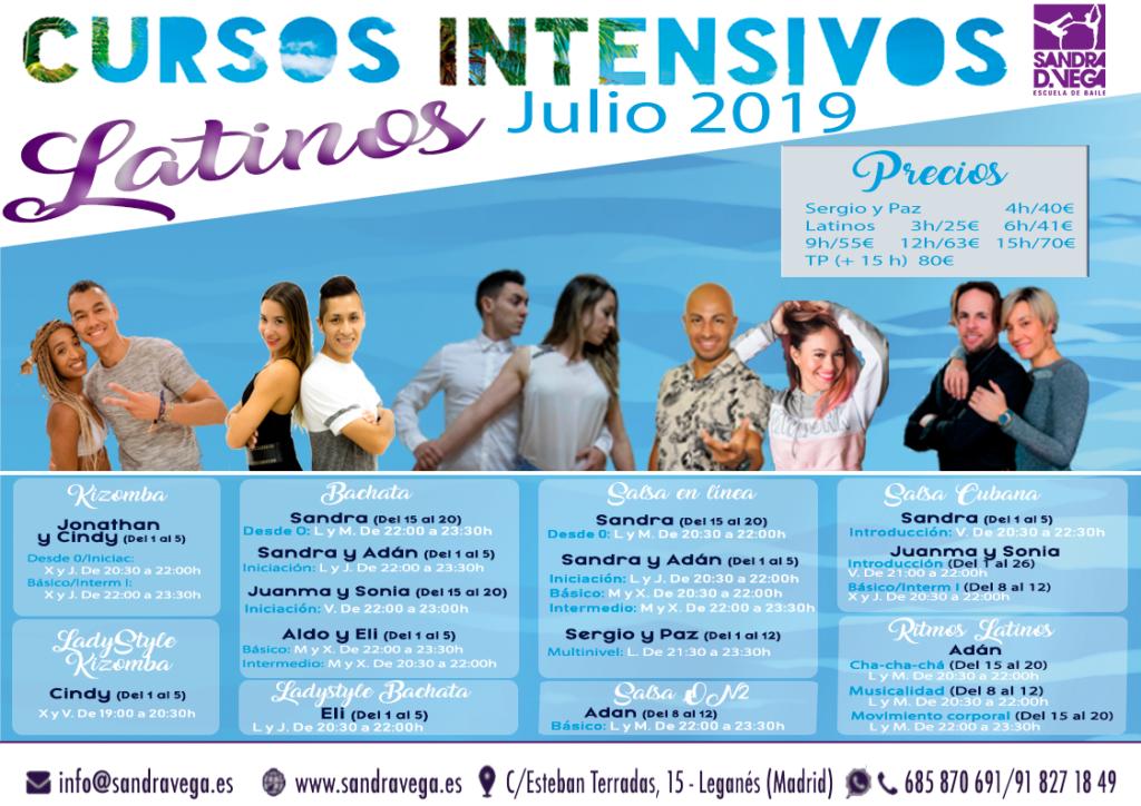 cursos intensivos latinos - academia sandra d. vega