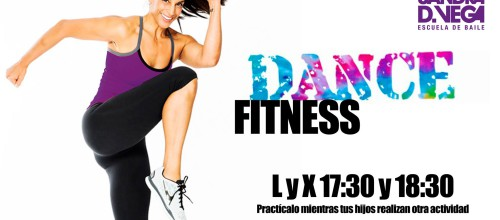 Dance Fitness. ¡Quema calorías bailando!