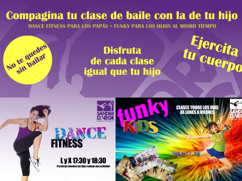 Vídeo dance fitness + hip-hop niños